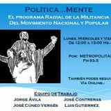 PoliticaMente Viernes 19-05-2017