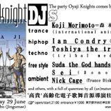 DJ nickcage in Oyaji Knights @ Jingumae bonobo, 20160629