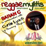Curtis Lynch Interview with Sarah C (Vibes FM)