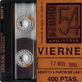 Studio 54 Barcelona - c. 1988