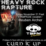 Heavy Rock Rapture Nov 21 feat Reuben Archer