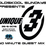 Unique 3 Guest Mix on Old Skool Sundays Radio Show 26-6-2016 (Glenn Aston Birthday Special)
