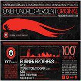 Live at 100 Percent Original NYC 2-13-2009
