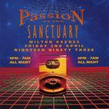 DJ Ratty Obsession 'Passion' Sanctuary 2nd April 1993