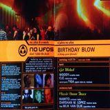 Clé  @ 4 Jahre No Ufo's Birthday Blow - E-Werk Berlin - 14.07.2001