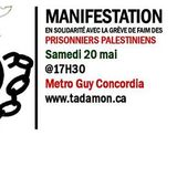 Interview: Solidarity Protest with the Palestinian Prisoner Hunger Strike (May 20th)