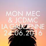 Cosmic Delights LIVE 03 Mon mec & Jean Charles de Monte Carlo at La galiciene 24.06.2016