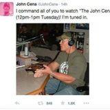 The John Cena Hour (10/20) Eric loves Toby Keith!