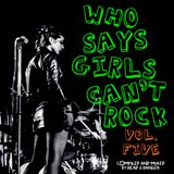 WHO SAYS GIRLS CAN'T ROCK - Vol. 5 - by Head & Banger
