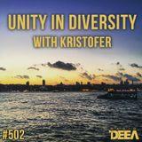 Kristofer - Unity in Diversity 502 @ Radio DEEA (25-08-2018)