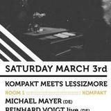"Michael Mayer (Kompakt) @ Kompakt Label Night, Fuse Club - Brussel (03.03.2012) ""Part One"""