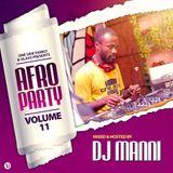 DJ MANNI AFRO PARTY VOL.11