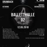 Ayako Mori DJ set at Balletthalle Berlin, GE  12 May 2018