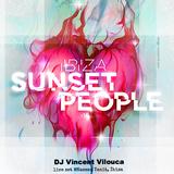 Vocal DJ Vincent Vilouca live @Sunset People, Nassau Tanit Beach Ibiza