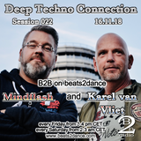 Deep Techno Connection Session 022 (with Karel van Vliet and Mindflash)