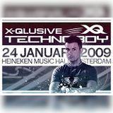 The Italian Invasion @ X-Qlusive Technoboy 24-01-2009