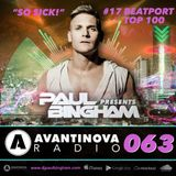 #63 PAUL BINGHAM - AVANTINOVA RADIO - So Sick! OUT NOW...