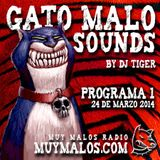 GATO MALO Sounds. Show 1. 24-04-14. www.muymalos.com