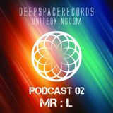DEEP SPACE RECORDS PODCAST NUMBER 2 NOV 2013 MIXED BY MR:L