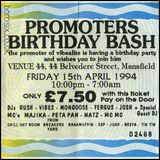 Ned Ryder - Vibealite 'Promoters Birthday Bash' - 15th April 1994 (Side 1)