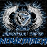 Hardstyle Top 20 November Mixed By G-zACK