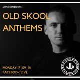 Old Skool Anthems Facebook Live 17.09.18
