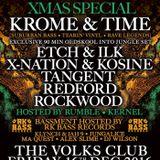 KROME & TIME [90 MIN SET] & RUMBLE MC - LIVE @ ORIGNATE @ THE VOLKS - XMAS 2016 [16:12:16]