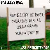Dateless Daze #23 GEDICHTENDAG