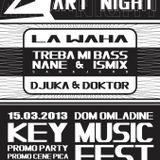 Treba mi bass@KEY MUSIC FEST promo party,Novi Pazar 15.03.2013