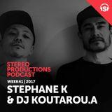 WEEK41_17 Guest Mix - Stephane K + Dj Koutarou A (JP)