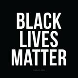Black Lives Matter. Don't avert your White eyes.