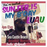 DJ RUSTI BDAY LUAU PROM MIX SUN.FEB.15 @ SEACASTLE BEACH ROSEHALL MONTEGO BAY