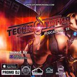 Techn'o'логия podcast # 23 with Dj Tony Montana [MGPS 89,5 FM] 01.07.2017