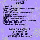 PlayHouse vol.3_at_Koenji4th//May2018