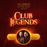 4Clubbers Hit Mix Team pres. Club Legends #002 - Benno De Goeij & Piet Bervoets (2017)