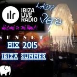 Lady Vera,, Sunset,, In Ibiza Live Radio,,Deep-House