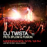 DJ Twista w/ MC's 3flow & Fusion - Moondance NYE 2013-2014