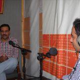 "Qasim Ali Shah Radio Program ""Manzil Ka Musafir"" at FM 98.6 with Ghulam Ali CEO ilmkidunya.com"