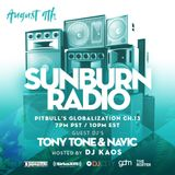 Sunburn Radio Guest Mix 8/09/18 on #GLOBALOIZATION #SIRIUSXM CH.13