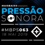 Pressão Sonora - 18-05-2019