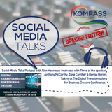 Social Media Talks Podcast (SPECIAL) Interview with Guest Speakers at the Digital Transformation Day