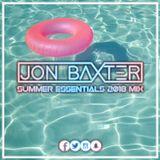 DJ Jon Baxter - Summer Essentials Mix 2018