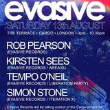 Rob Pearson - Evasive Records @ Cargo, London