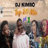 Top 20 Mix part 1 @djkimboofficial URBAN HIP-HOP/UK TRAP/ US TRAP/AFRO BEATS