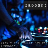 Zeddski Live at The Puzzle Factory, Brooklyn August 2018