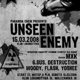 DSTR & G-SUS [Paranoia Crew] - Unseen Enemy Mix