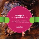 018 musicserf guest mix Gillepsy