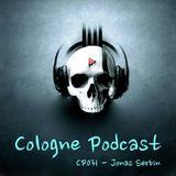 Cologne Podcast 031 with Jonas Serbin (Stockholm/Sweden)