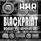 Dj blackprint techno live set on househeadsradio 25/9/17