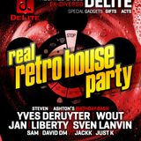 Real Retro House 14 December 2013 - Set 8 - DJ Liberty vs David DM